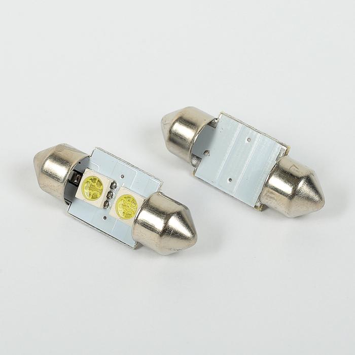 Автолампа светодиодная C5W FEST 36мм, SV8.5, 2 SMD-5050