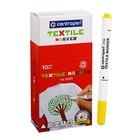 Маркер для ткани 1.8 мм Centropen 2739 желтый