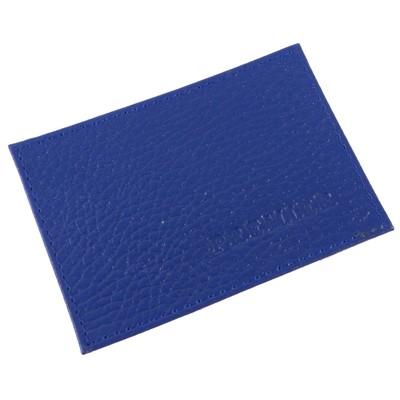 Футляр для карточек, цвет синий