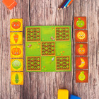 """Крестики-нолики для детей """"Наш огород"""", 10 деталей"""