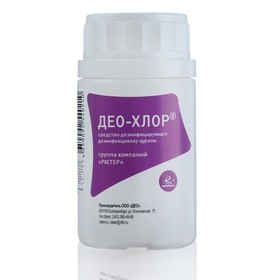 Дезинфицирующее средство Део-Хлор 3.4, 25 таблеток