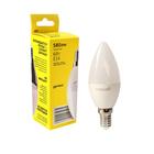 Лампа светодиодная Geniled, E14, C37, 6 Вт, 2700 К, матовая