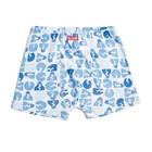 Трусы-боксеры для мальчика, рост 146 см, цвет голубой