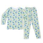 Пижама детская, рост 128 см, цвет микс пн10002