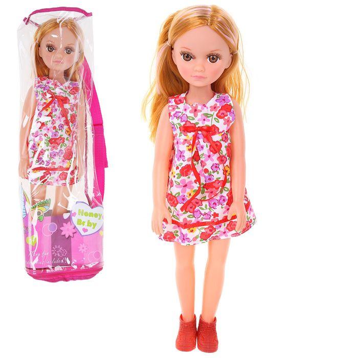 """Кукла """"Наденька"""", звуковые эффекты, работает от батареек, МИКС, высота: 50 см"""