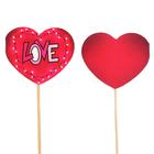 """Топпер - открытка """"LOVE"""" гирлянда"""