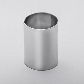 Форма для выкладки и выпечки круглая d=3 см, высота 5 см Ош