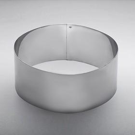 Форма для выкладки и выпечки круглая d=16 см, высота 7 см Ош