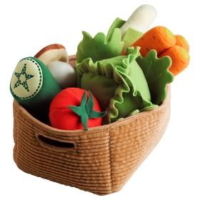 """Мягкая игрушка """"Овощи"""", 14 предметов ДУКТИГ"""