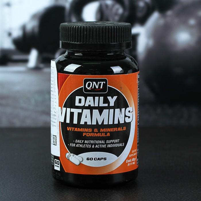 Витамины QNT, Daily Vitamins, 60 капсул