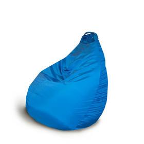Кресло-груша d75/h90, цв. василек, оксфорд, вспененный полистирол Ош