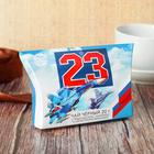 """Чай чёрный премиум """"23 Февраля"""" самолет, 20 г"""