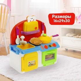 """Игровой модуль """"Моя кухня"""" с аксессуарами, световые и звуковые эффекты, льётся вода из крана"""