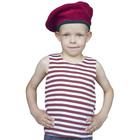 """Карнавальный костюм """"Краповый"""", тельник, берет, 2-3 года рост 94-104"""