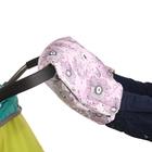 Муфта для рук «Морозко» флисовая, на липучках, цвет розовый «Фантазия»