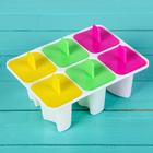 """Форма для мороженого """"Лолли"""", 6 ячеек, цвета МИКС"""