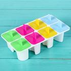 """Форма для мороженого """"Лолли"""", 8 ячеек, цвета МИКС"""