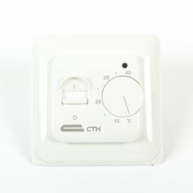 "Терморегулятор  ""СТН"" MT26, механический, 3500 Вт, 1 датчик, белый"