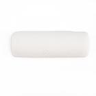 Валик под голову L-39 см, D-13,5 см,  белый, велюр, латекс, Memory Foam.