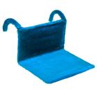 Гамак на батарею Happy Friends для кошек, 43 х 32 х 20 см, голубой
