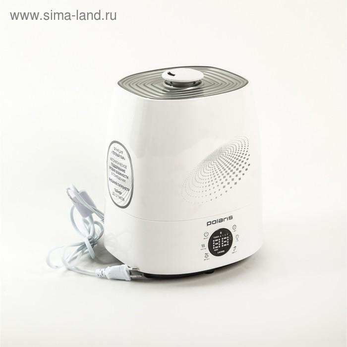 Увлажнитель воздуха PolarisPUH 5906Di, ультразвуковой, 110 Вт, 5.5 л, белый