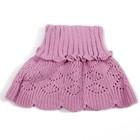 Шарф-манишка для девочки, размер 0,6-1,5 года, цвет сиреневый 104
