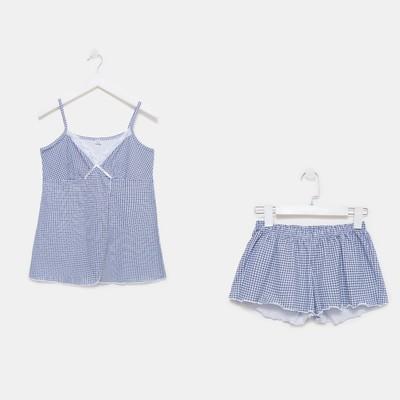 Пижама женская (майка, шорты) 555 цвет микс, р-р 42