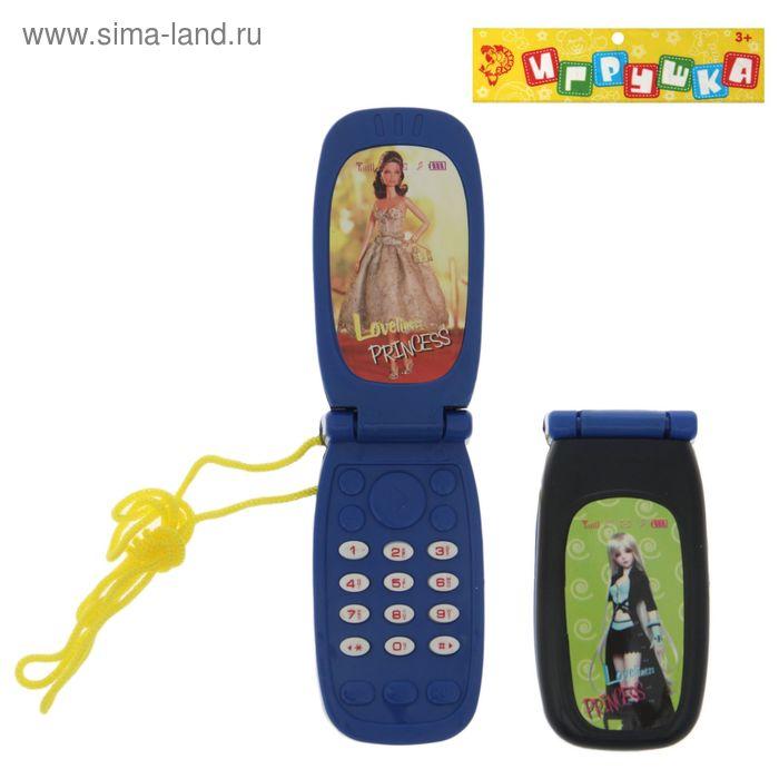 """Игрушка телефон """"Звоняшка"""", звуковые эффекты, МИКС"""