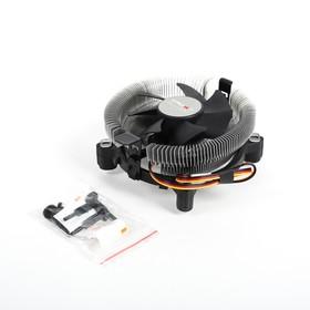 Кулер CROWN для процессора CM-80, для Intel и AMD, TDP до 65 Ватт, коннектор 3 pin
