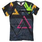 "Футболка мужская ""Треугольник"", размер XL APD-181114"
