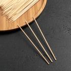 Набор шампуров деревянных 15 см 85-90 шт, диаметр 3 мм