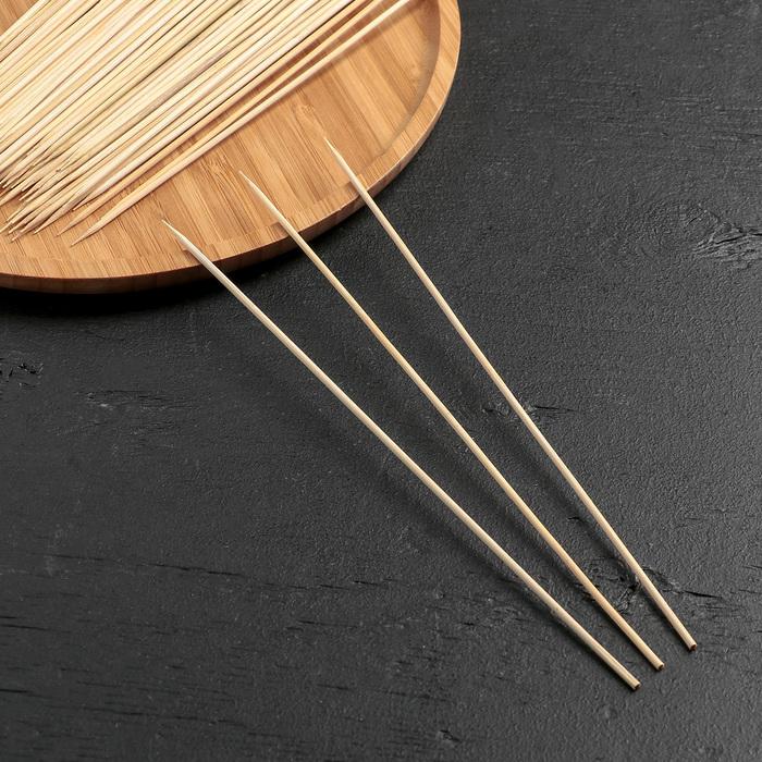 Набор шампуров деревянных 25 см 85-90 шт