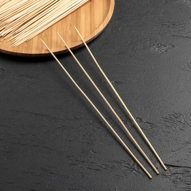 Набор шампуров деревянных 30 см 85-90 шт Ош