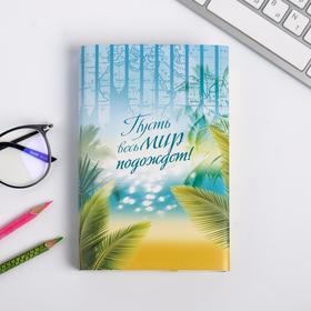 Обложка для книг «Пусть весь мир подождет», 17 х 33 см Ош