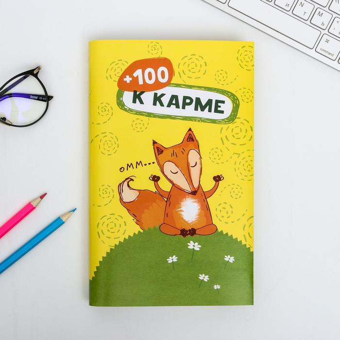 Обложка для книг «+100 к карме», 43 х 24 см
