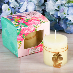 """Подарочная свеча """"Розовые мечты"""""""