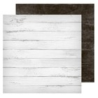 Фотофон двусторонний «Доски белые‒доски черные», 45 х 45 см, картон, 100 г/м
