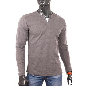 Джемпер (фуфайка) мужской 0740 цвет антрацит меланж, р-р 50-52 (XL)