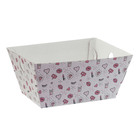 Складная коробка–трапеция «Девичьи фантазии», 27 х 19,5 х 13 см