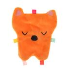 Развивающая игрушка-шуршалка «Лисичка»