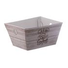 Складная коробка–трапеция «Дом там, где сердце», 19,5 х 15 х 1 х 10,5 см.