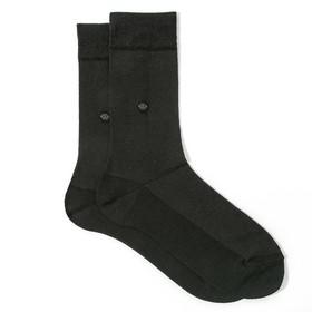 Носки мужские в сетку С284(С) цвет чёрный, р-р 27