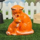 """Садовая фигура """"Кошка с котёнком"""""""