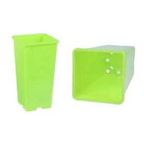 Наборо для рассады: стаканы - 5 шт. по 2 л, салатовый Ош