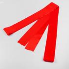 Лента атласная, ширина 10 см, красная, 5 м