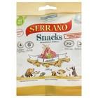 Лакомство Serrano Snacks для собак, мясо ягненка, 100 г