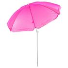 """Зонт пляжный """"Классика"""" с механизмом наклона, d=150 cм, h=170 см, МИКС"""