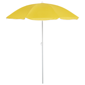 """Зонт пляжный """"Классика"""", d=180 cм, h=195 см, МИКС"""