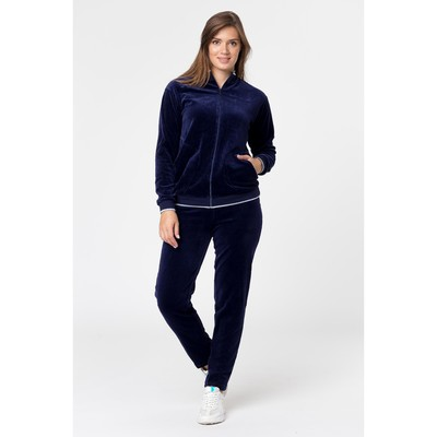 Комплект женский (джемпер, брюки) Р640346 цвет тёмно-синий, р-р 54, рост 170-176