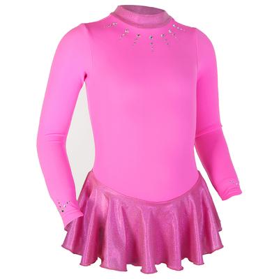Термоплатье тренировочное, цвет ярко-розовый, рост 110см